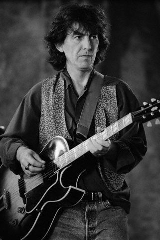 George Harrison of the Traveling Wilburys