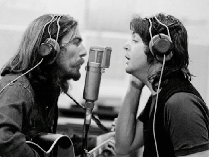 george and paul abbey road 69