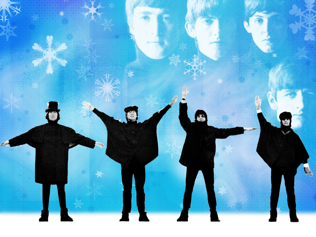 The_Beatles_Snow_scene_by_dead_betty